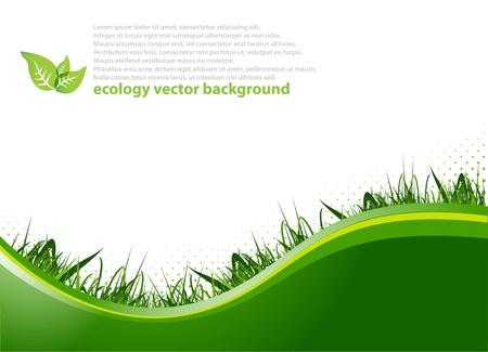 Spring achtergrond Vector Illustratie