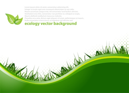 ecological: Spring background