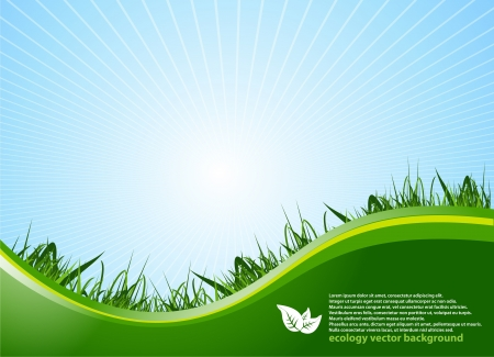Ecology Background Vector