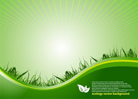 lightness: Abstract Green Background