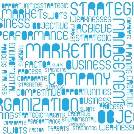 Marketing tag cloud Stock Vector - 14199905