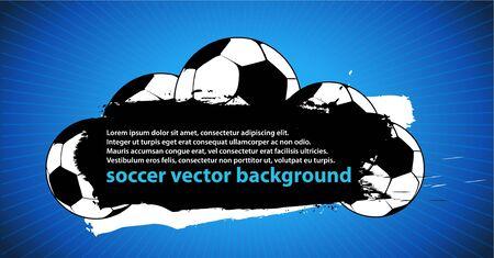 football socks: soccer Illustration