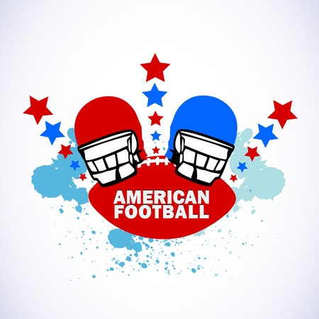 American Football Logo Stock Vector - 14199919