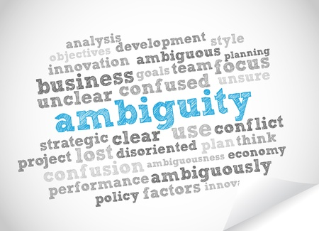 ambiguity: Word Cloud Ambiguity