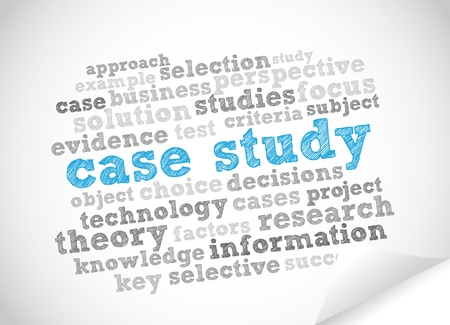Word Cloud Case Study Vector