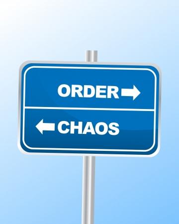 disorganized: Order Chaos