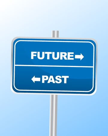 Future or Past Stock Vector - 14360959