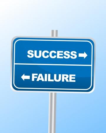 Success or Failure Stock Vector - 14361450