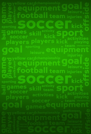 offside: Soccer Word Tags