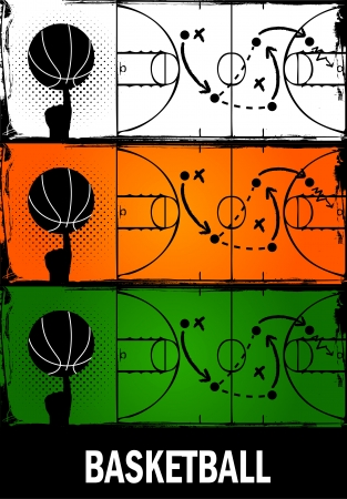 basketball Stock Vector - 14665707