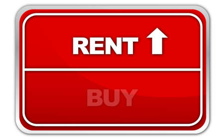 rent   buy sign photo