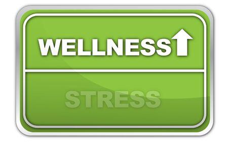 bustle: wellness stress Stock Photo