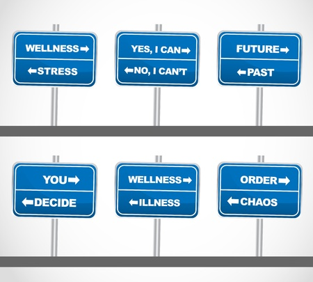 Business Street Signs Set-3 Vector