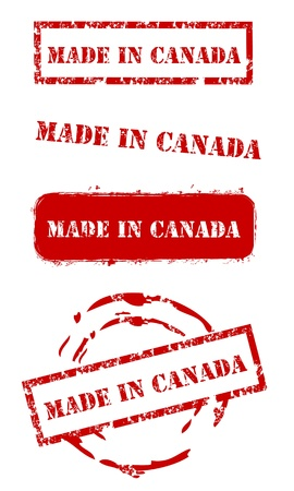 canada stamp: Made in Canada Stamps