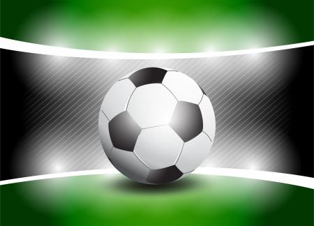 Shiny Football Stage photo