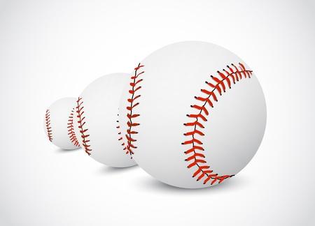 Baseball ball Stock Vector - 14891023