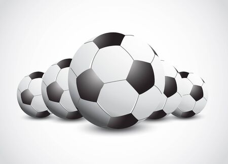 3D Football Ball Vector