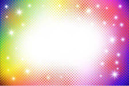 Colorful abstract halftone background photo