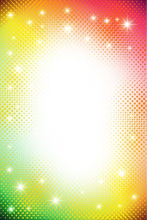 doted: colorful dots abstract background