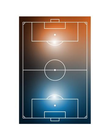 abstract shiny football field Vector