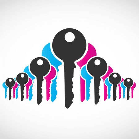 Abstract Key Concept Vector