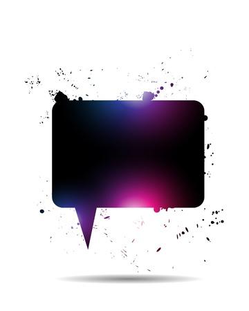 Abstract Shiny Speech Bubble Stock Vector - 15600691