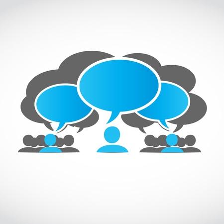 burbujas de pensamiento: equipos comerciales con burbujas de pensamiento