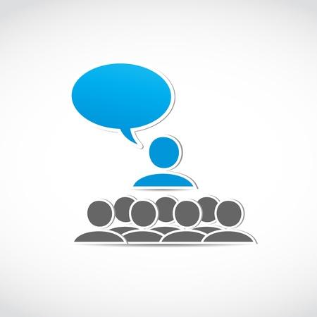 capacitacion: negocio habla seminario