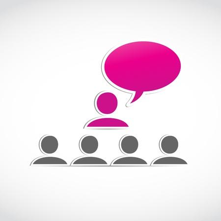 boardroom meeting: business presentation concept