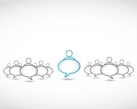 burbujas sociales del discurso de la red