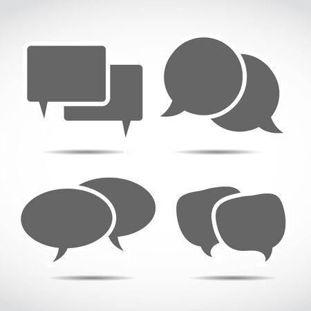 dialog speech bubbles Stock Vector - 15745896