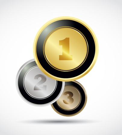 numerate: Numbers brilliant buttons set
