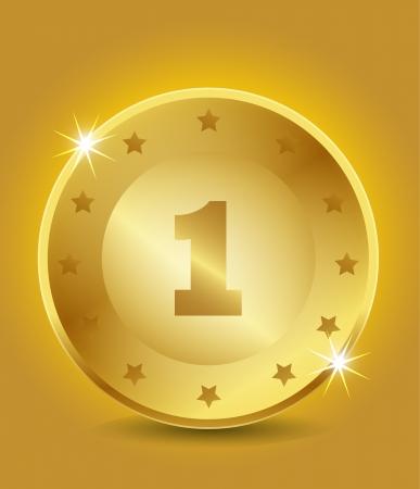 1 place: El primer puesto de Oro
