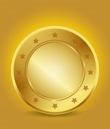 Lege Gouden Garantie Label
