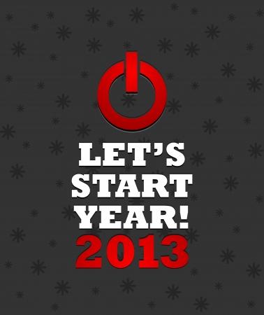 2013 Power Button Stock Vector - 15821010