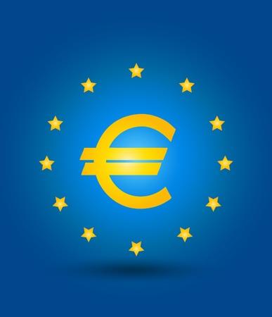 european union flag and symbol concept Stock Vector - 15821015