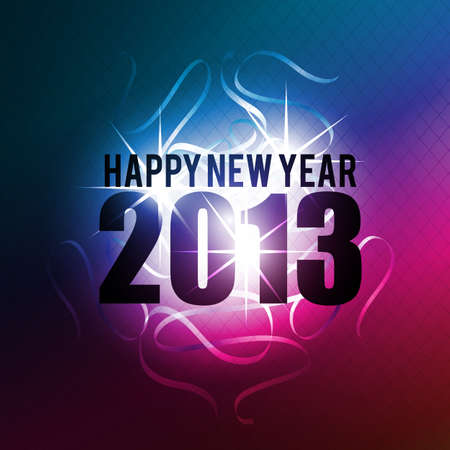 abstract 2013 new year celebration background photo