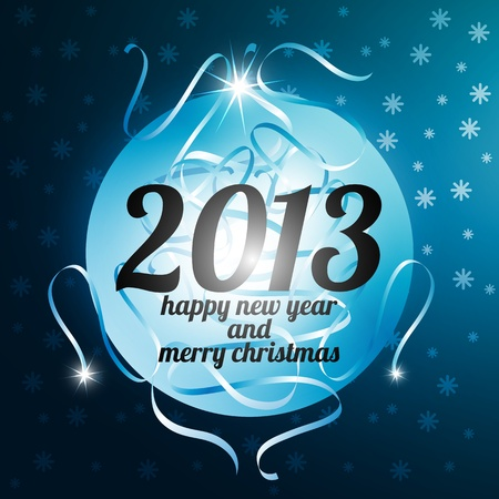 2013 New Year Greeting card photo