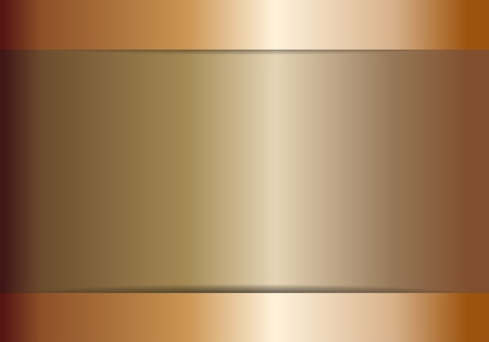 stainless steel: bronze texture background Illustration