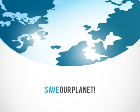 save mother earth Vector