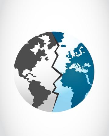 global disaster Stock Vector - 16307519