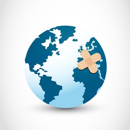 heal the world Stock Vector - 16307528