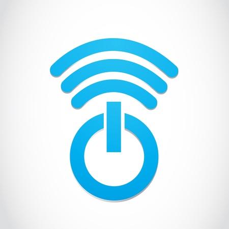 omroep: Wi-fi Macht Symbool