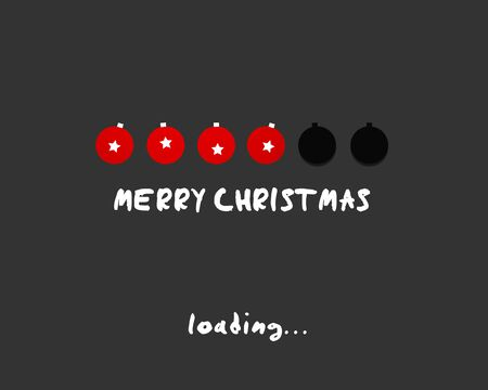 uploading: merry christmas palla concetto