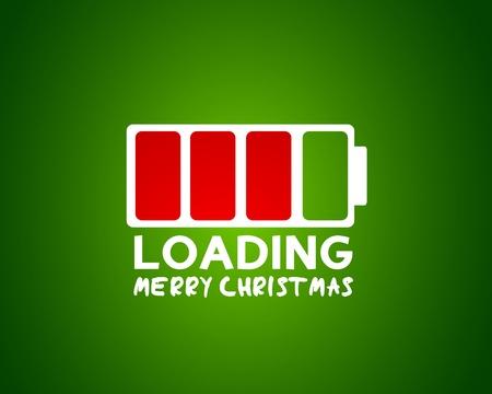 capacity: merry christmas coming card