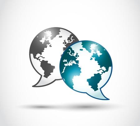 technology world communication Stock Vector - 16729538