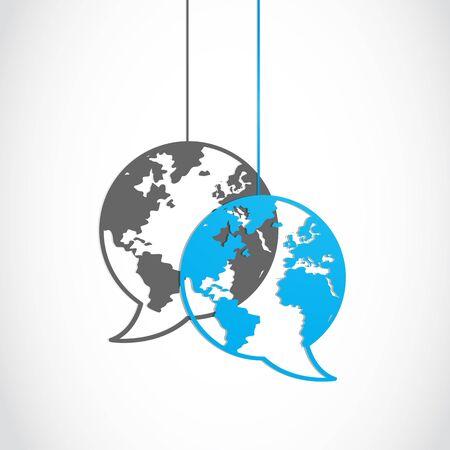 discourse: social media dialog globe