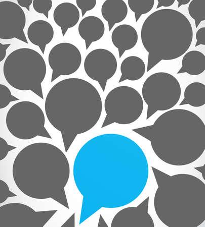 business dialog speech bubbles Stock Vector - 17296281