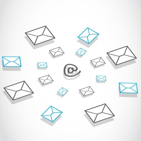 E-mail messaging technology Stock Vector - 17296302