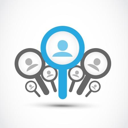 ressources humaines: trouver un emploi, le concept de recherche d'emploi
